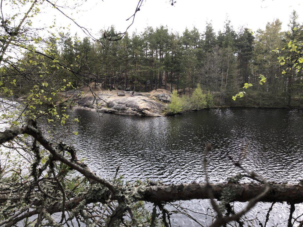 Uimapaikka matkalla Kodisjoelta kotiin Tynnyrimiehen vaimon blogi
