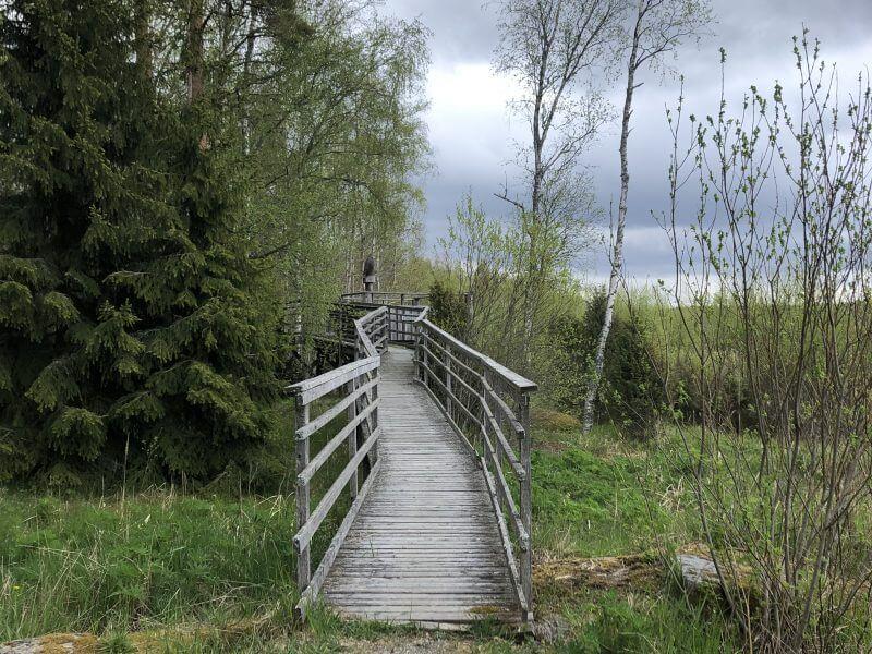 Vanha silta Otajärven luontotuvalla Tynnyrimiehen vaimon blogi